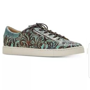 Patricia Nash tooled leather Sneakers